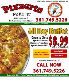 Port A Pizzeria — Best Pizza in Port Aransas
