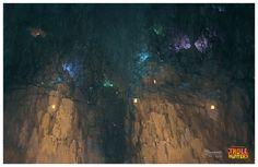 Concept Arts do seriado Troll Hunters, da DreamWorks, por Djahal   THECAB - The Concept Art Blog