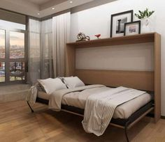 """Explore our web site for additional info on """"murphy bed ideas ikea queen size"""". It is actually an outstanding area to get more information. Murphy Bed Ikea, Murphy Bed Plans, Modern Murphy Beds, Types Of Beds, Outdoor Kitchen Design, Decorate Your Room, Trends, Ikea Hacks, Kids Bedroom"""