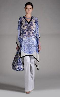 Short kaftan Women - Kaftans Women on Roberto Cavalli Online Store -2013