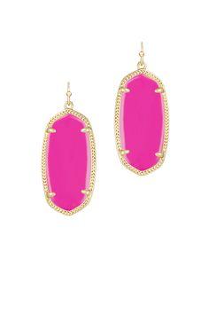 Kendra Scott Magenta Danielle Earrings Family Pictures, Playing Dress Up, Kendra Scott, Magenta, Jewelry Accessories, Jewels, Drop Earrings, My Style, Vacation Packing