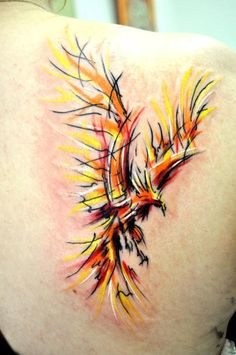 Abstract phoenix. Yes! Finally found one I've been picturing!