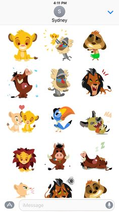 Iphone Wallpaper Disney Characters- Disney Stickers: The Lion King by Disney Simba Disney, Disney Lion King, Disney Art, Disney Ideas, Lion King Party, Lion King Birthday, Best Disney Animated Movies, Lion King Drawings, New Wallpaper Iphone