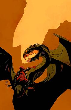 by Mike Mignola.