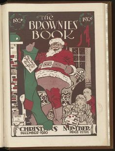 From the Rare Book and Special Collections Division Web Dubois, Childrens Christmas Books, Art Deco Cards, Black Magazine, Pop Culture Art, American Children, Publication Design, Black African American, African Diaspora