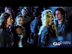 The 100 CW - Chance for a Truce - YouTube - Eliza Taylor, Bob Morley, Lindsey Morgan, Thomas Mcdonell, Paige Turco - Clarke Griffin, Bellamy Blake, Raven Reyes, Finn Collins, Abby - Still no Kane?