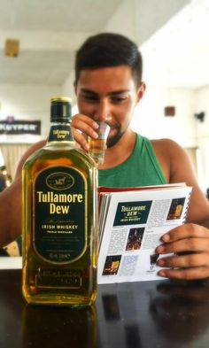 Discover the Tullamore D.E.W history in your shot glass