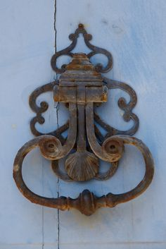 Door Knocker, Il de Re by Peter Cook UK, via Flickr