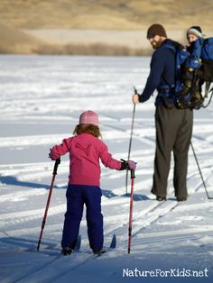 3 Tips for Teaching Kids to Cross-Country Ski for some wholesome outdoor recreation.