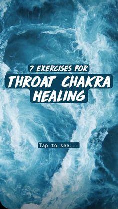 Throat Chakra Healing, Soul Healing, Holistic Healing, Meditation Exercises, Meditation Benefits, Fish Pose, Shoulder Massage, Yoga For Back Pain, Chakra System