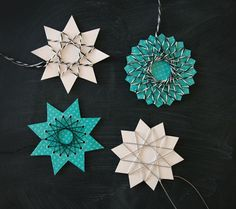 DIY: String art stars / Free printable templates