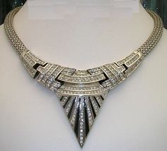 Art Deco jewellery.