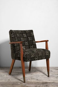So cool! / HYM Salvage X Urban Renewal Mud Cloth Danish Side Chair