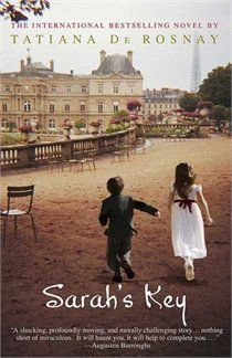 Bookclub read for March with my ladies is... Sarah's Key by Tatiana de Rosnay