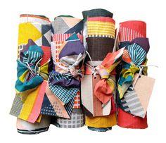 Hand-printed Irish linen, design by Tamasyn Gambell