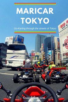 MariCar in the streets of Tokyo Japan