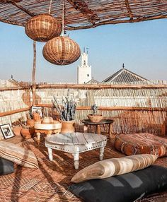 Oh The Good Things.ochre Forever dreaming of Morocco🕌✨🐪 Deco Design, Cafe Design, House Design, Outdoor Rooms, Outdoor Living, Outdoor Decor, Interior And Exterior, Interior Design, Modern Interior