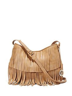 4b2e8969d4 Faux-Suede Fringe Bag - New York   Company What In My Bag