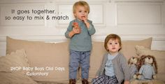 Fall styles for babies. Wheat Canada Baby & Kids Clothing #wheatcanada #wheatkids