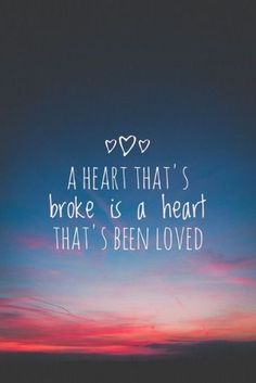 That's been luved or has loved .....