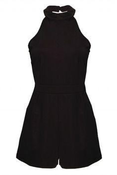 Playsuits - Jumpsuits for Women - Black Playsuit Online | Rare Fashion