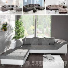 Design-Ecksofa-SULTAN-Strukturstoff-FARBWAHL-grosses-Sofa-Couch-Wohnlandschaft