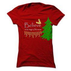 (Tshirt Perfect Order) Christmas Believen Teeshirt this month Hoodies Tee Shirts