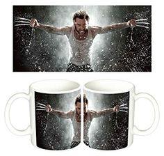 Taza Logan X Men Wolverine Lobezno Hugh Jackman