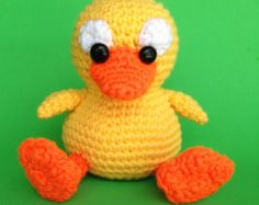 PDF Crochet Pattern DUCKY (English only)