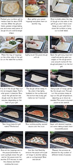 pizza on the grill - one of our favorite camping meals