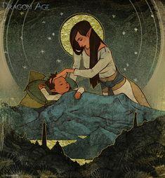 World of Thedas 2 - Mir Da'len Somniar by MattRhodesArt on DeviantArt
