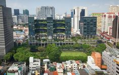 Biophilic design: Greening Singapore