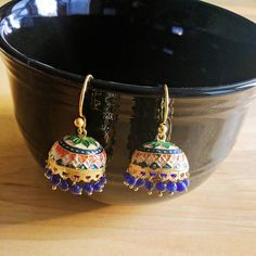 Check out this item in my Etsy shop https://www.etsy.com/listing/508588938/grorgeous-multicolor-ethnic-jhumka