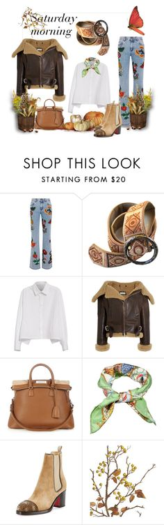 """""""Saturday morning"""" by amaiba ❤ liked on Polyvore featuring Gucci, Y's by Yohji Yamamoto, Balenciaga, Maison Margiela, Christian Louboutin and Crate and Barrel"""