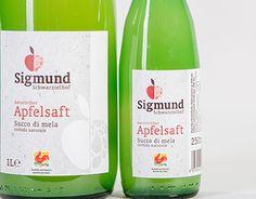 "Check out new work on my @Behance portfolio: ""SIGMUND APFELSAFT – Packaging…"
