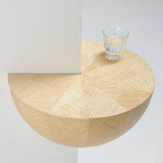 Catch Bowl, étagère d'angle par Torafu - Blog Esprit Design