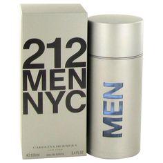4f9a8ea037 Carolina Herrera 212 By Carolina Herrera For Men. Eau De Toilette Spray  This popular fragrance contains grapefruit