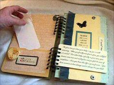 Make your own pregnancy scrapbook journal