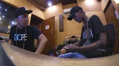 "Recording Session ""BAD"" ft Awkarin - Forever Young Eps.58"