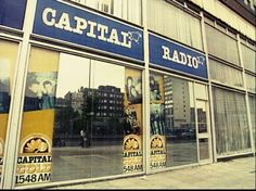 Capital radio euston tower london 70s.