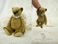 Maxim Mini Miniature Artist Teddy Bear by Aerlinn by aerlinnbears