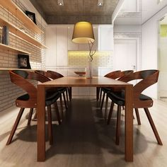 Set of Leather Upholstery Dining Chairs Timber Wood Leg Kitchen Fuiniture Wooden Dining Chairs, Fabric Dining Chairs, Dining Chair Set, Dining Table, Furniture Sets, Furniture Design, Timber Wood, Home Living Room, Upholstery