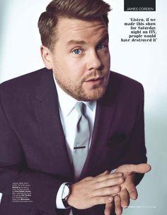 El presentador y actor James Corden es el protagonista del número de septiembre de GQ en su edición británica, posando para la cámara d...