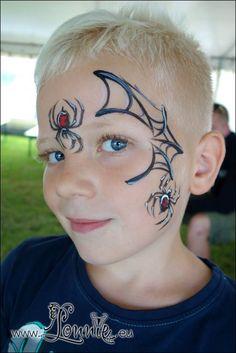 spiderweb design for boys Halloween