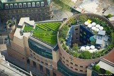 jardines en cubierta.
