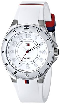 Tommy Hilfiger Women's 1781271 Stainless Steel Watch with White Silicone Band Tommy Hilfiger http://www.amazon.com/dp/B009EGE87M/ref=cm_sw_r_pi_dp_zj1Wwb0PZF0HS