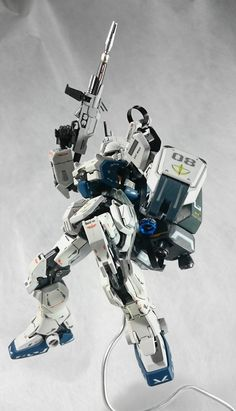 GUNDAM GUY: 1/144 Gundam Ez-8 [RG Frame Custom] - Custom Build