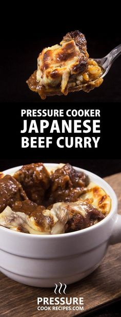 MUST TRY Japanese Pressure Cooker Beef Curry Recipe! 7 months to recreate one of Tokyo's most highly rated Japanese Curry Beef Stew using simple everyday ingredients. Eat this and live with no regrets. via @pressurecookrec