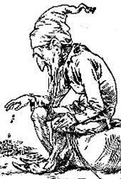 Old leprechaun (XIX)