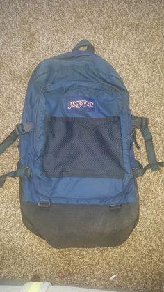Etsy の Vintage Jansport Backpack by intheshvdows
